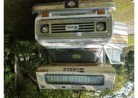 1977 Cevy/Itasca  Motor Home