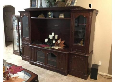 TV Stereo Wall Cabinet